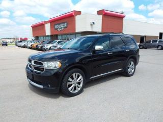 Used 2013 Dodge Durango Crew 4dr AWD Sport Utility Vehicle for sale in Steinbach, MB