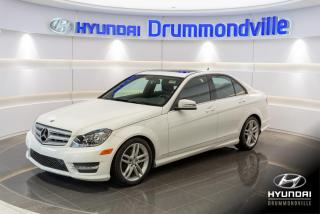 Used 2013 Mercedes-Benz C-Class C 300 4MATIC +  TOIT + CUIR + for sale in Drummondville, QC