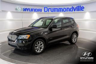 Used 2012 BMW X3 28i + XDRIVE + GARANTIE + CUIR + MAGS + for sale in Drummondville, QC