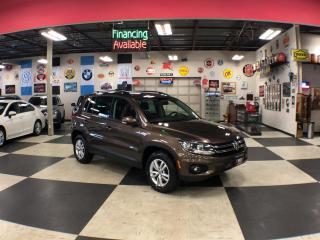 Used 2015 Volkswagen Tiguan 2.0 TSI TRENDLINE AUT0 AWD H/SEATS CAMERA for sale in North York, ON