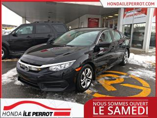 Used 2017 Honda Civic LX Jamais accidentée , a qui la chance . for sale in Île-Perrot, QC