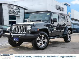 Used 2017 Jeep Wrangler Unlimited Sahara  - Bluetooth for sale in Etobicoke, ON