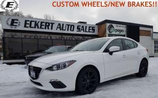 Used 2015 Mazda MAZDA3 i-SPORT WITH SKYACTIV & CUSTOM WHEELS!! for sale in Barrie, ON