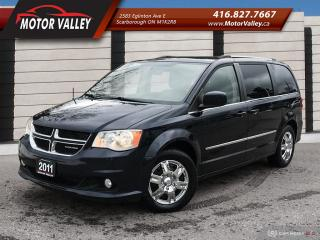 Used 2011 Dodge Grand Caravan Crew Plus Navigation, B.Up Cam Loaded! for sale in Scarborough, ON
