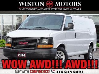Used 2014 GMC Savana 1500 AWD!!!*5.3L*REVERSE CAMERA*WOW AWD!!* for sale in Toronto, ON
