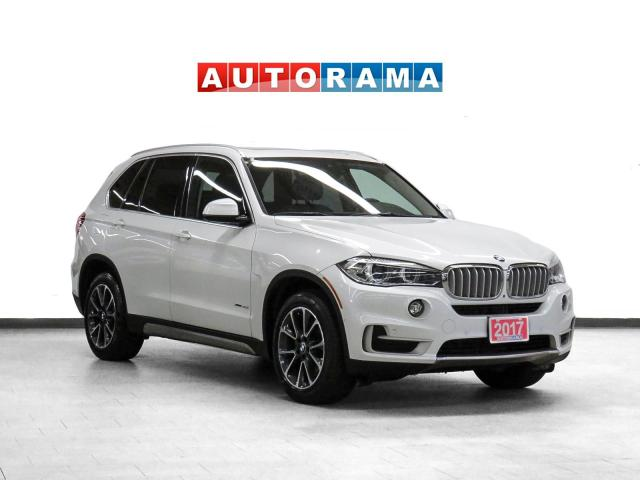2017 BMW X5 4WD Nav Leather PanoRoof Bcam 360Cam