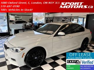 Used 2016 BMW 3 Series 340i xDrive TECH+M-PKG+HUD+GPS+360 Camera+NewTires for sale in London, ON