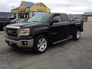 Used 2014 GMC Sierra 1500 SLE DoubleCab 5.3L 6.5ft Box BackUpCam RemoteStart for sale in Brantford, ON