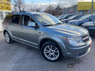 Used 2010 Dodge Journey R/T/ AWD/ 7 SEATER/ LEATHER/ SUNROOF/ ALLOYS! for sale in Scarborough, ON