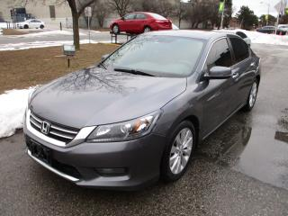 Used 2014 Honda Accord EX-L~LEATHER~SUNROOF~BACK UP & SIDE CAM.~ for sale in Toronto, ON