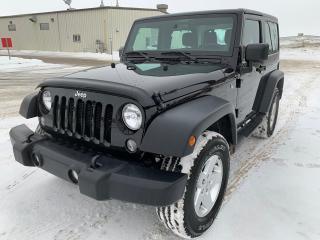 Used 2014 Jeep Wrangler SPORT for sale in Saskatoon, SK