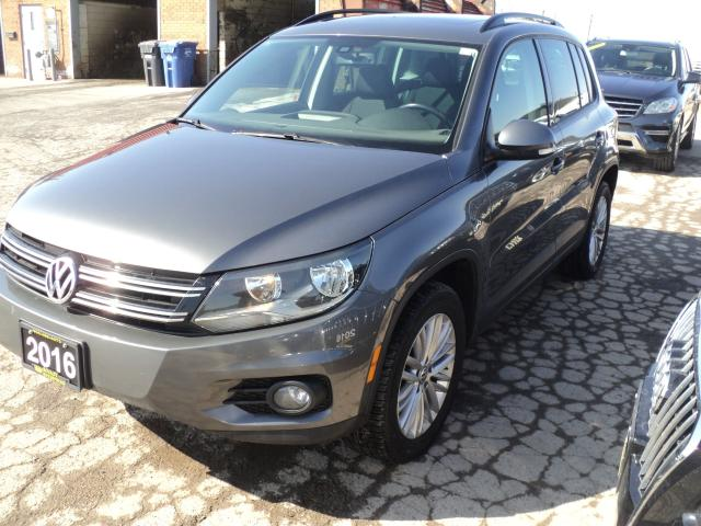 2016 Volkswagen Tiguan 4MOTION,PANORAMIC ROOF,CAMERA