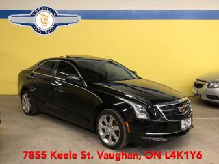 Used 2015 Cadillac ATS AWD, Sunroof, Backup Cam, Leather for sale in Vaughan, ON