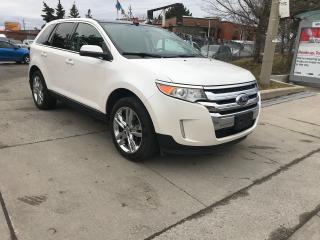 Used 2011 Ford Edge LIMITED,LEATHER,PANO/R,NAV,B/U CAMERA,PUSH START for sale in Toronto, ON
