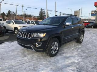Used 2016 Jeep Grand Cherokee 4 RM, 4 portes, Limited for sale in Sherbrooke, QC