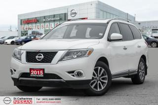 Used 2015 Nissan Pathfinder SL Leather | AWD | Accident Free for sale in St. Catharines, ON
