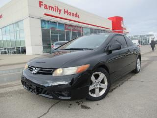 Used 2007 Honda Civic COUPE 2dr AT EX | SUNROOF | for sale in Brampton, ON