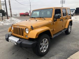 Used 2014 Jeep Wrangler l Htd Seats l Nav l Hitch l for sale in Etobicoke, ON