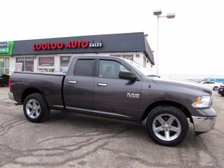 Used 2015 RAM 1500 SLT Quad Cab 4WD Navigation Certified for sale in Milton, ON