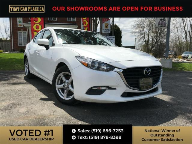 2017 Mazda MAZDA3 GS Backup-Htd Seats & SteeringWheel-Bluetooth-NaviReady