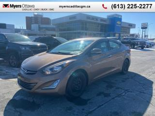 Used 2016 Hyundai Elantra Limited  LIMITED, AUTOMATIC, HEATED SEATS, SUNROOF, REAR VIEW CAM, BLUETOOTH for sale in Ottawa, ON