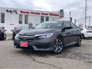 Used 2017 Honda Civic Sedan EX for sale in Mississauga, ON