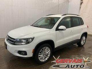 Used 2016 Volkswagen Tiguan Special Edition 4Motion AWD Mags Caméra *Bluetooth et Sièges chauffants* for sale in Trois-Rivières, QC