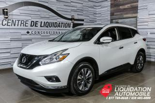Used 2017 Nissan Murano SL+AWD+CUIR+TOIT+MAGS+GPS+BLUETOOTH for sale in Laval, QC