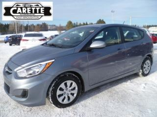 Used 2017 Hyundai Accent GL for sale in East broughton, QC