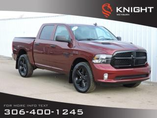 New 2019 RAM 1500 Classic Express Night Crew Cab 4x4 HEMI | Back-up Camera | Bluetooth | Night Edition for sale in Weyburn, SK