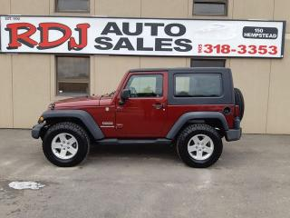 Used 2010 Jeep Wrangler Sport 1 OWNER,0NLY 64000KM for sale in Hamilton, ON