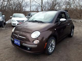 Used 2013 Fiat 500 Lounge,Certified,LowKms! for sale in Oshawa, ON