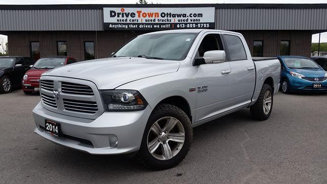 2014 RAM 1500 SPORT CREW CAB 4X4  **90 Days no Payments**