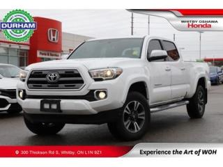 Used 2017 Toyota Tacoma 4WD Double Cab V6 Auto Limited for sale in Whitby, ON