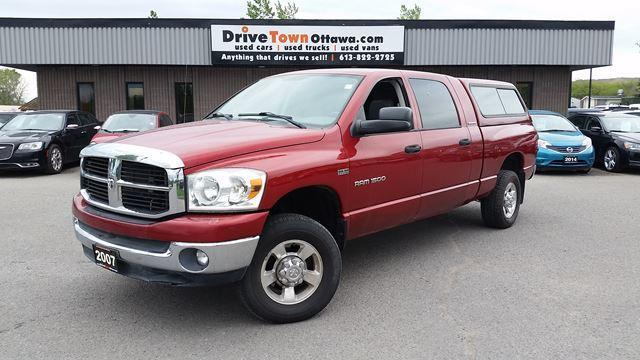 2007 Dodge Ram 1500 SLT MEGA CAB 4X4 **2500 SERIES PACKAGE**