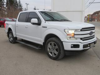 Used 2018 Ford F-150 LARIAT 4WD SuperCrew 5.5' - One Owner/Lariat Sport Pkg/Technology Pkg for sale in Hagersville, ON