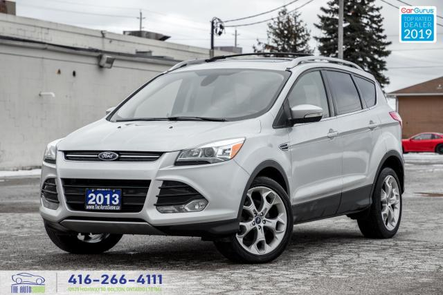 2013 Ford Escape Titanium|Clean Carfax|Navi|Leather|Heated Seats