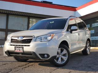 Used 2015 Subaru Forester 2.5i Touring Package MANUAL | Heated Seats | Sunroof | for sale in Waterloo, ON