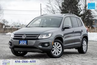 Used 2012 Volkswagen Tiguan AWD|Pano. Roof|Leather|Clean Carfax|Bluetooth for sale in Bolton, ON