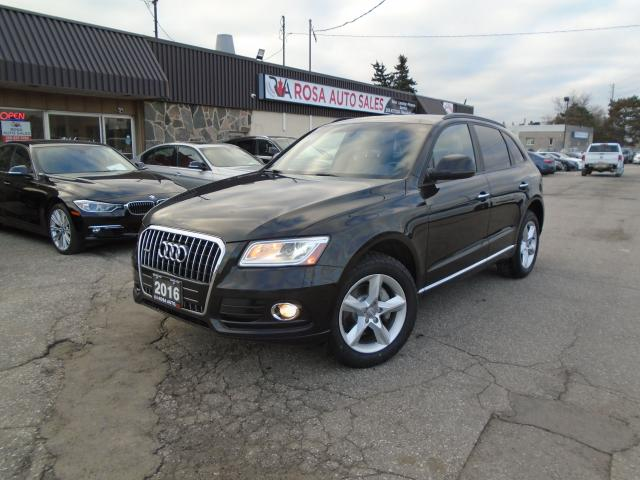 2016 Audi Q5 quattro 4dr 2.0T NO ACCIDENT NEW BRAKES+ TIRES BRO