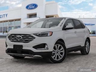 Used 2019 Ford Edge Titanium for sale in Winnipeg, MB