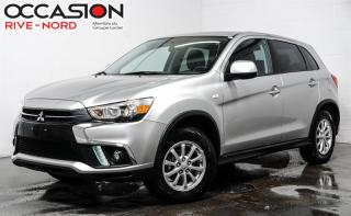 Used 2018 Mitsubishi RVR SE AWC APPLE.CARPLAY+MAGS+SIEGES.CHAUFFANTS for sale in Boisbriand, QC