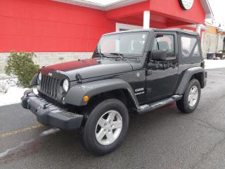 Used 2017 Jeep Wrangler SPORT for sale in Cornwall, ON