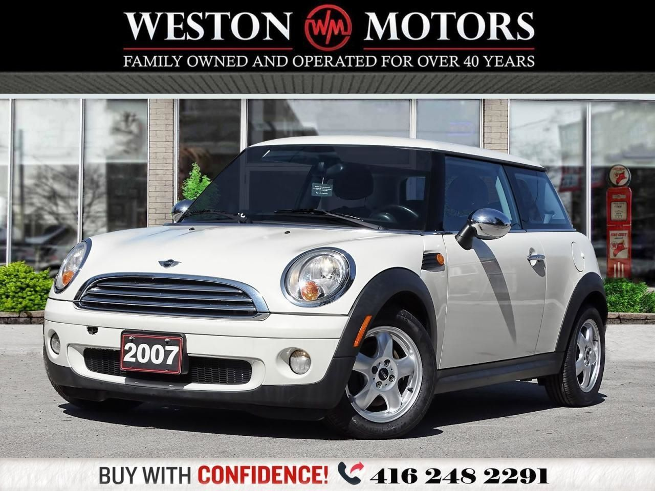 2007 MINI Cooper 5 SPEED*BLUETOOTH*LEATHER*WOW CERTIFIED!!*