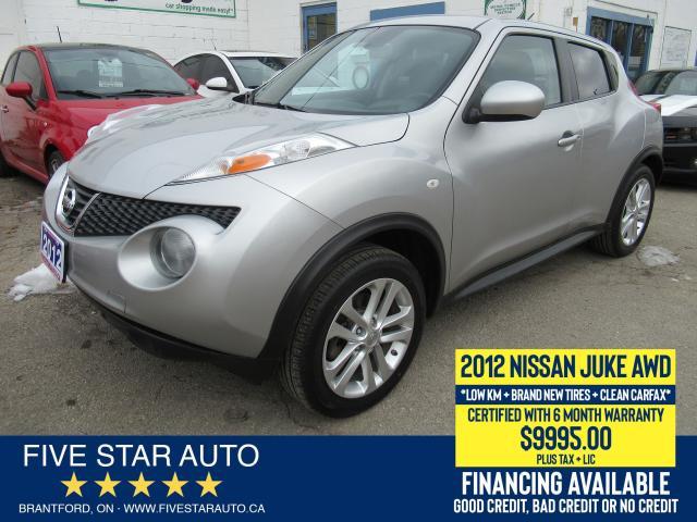 2012 Nissan Juke SV *Clean Carfax* Certified w/ 6 Month Warranty