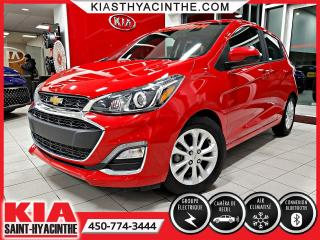 Used 2019 Chevrolet Spark LT ** CAMÉRA DE RECUL / BLUETOOTH for sale in St-Hyacinthe, QC