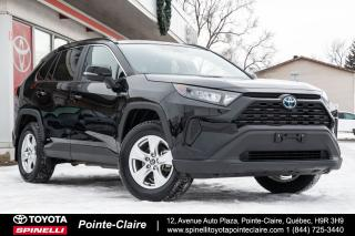 Used 2019 Toyota RAV4 Hybrid LE AWD for sale in Pointe-Claire, QC
