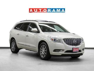 Used 2015 Buick Enclave Navigation Leather PanoRoof Backup Cam 7Pass for sale in Toronto, ON