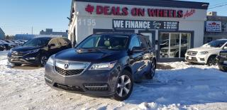 Used 2016 Acura MDX SH-AWD 4DR for sale in Oakville, ON
