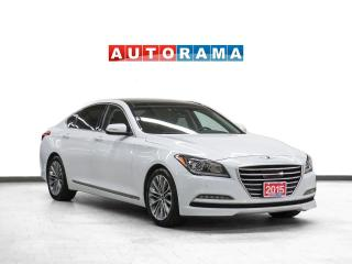 Used 2015 Hyundai Genesis Tech Pkg AWD Nav Leather PanoRoof Bcam for sale in Toronto, ON